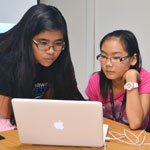 Excite Camp mentor leads young girls to STEM