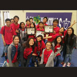 Maui Waena Intermediate students learn teamwork