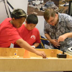 Maui County students connect with Boeing during stellar space conference