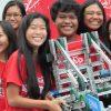 STEMworks students at Queen Kaahumanu Center
